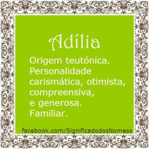 Adília