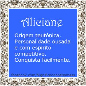 Aliciane