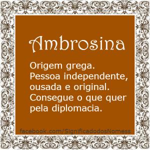 Ambrosina