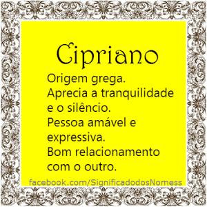 Cipriano