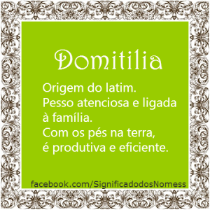 Domitilia