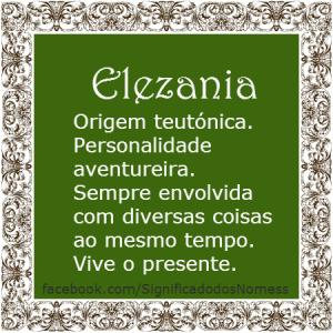 Elezania