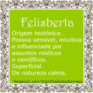 Felisberta