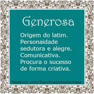 Generosa