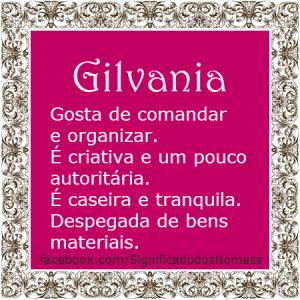 Gilvania