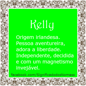 Significado do nome Kelly
