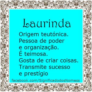 Laurinda