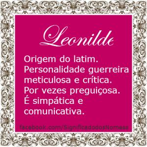 Leonilde