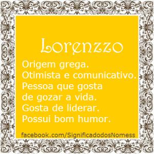 Lorenzzo
