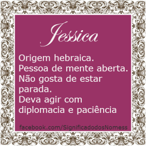 Significado do nome Jessica