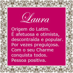 Significado do nome Laura