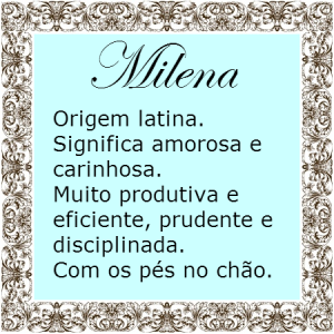 Significado do nome Milena