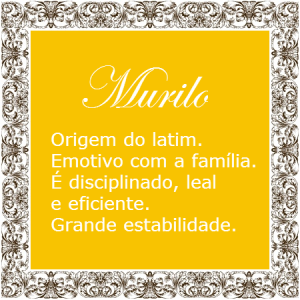 Significado do nome Murilo