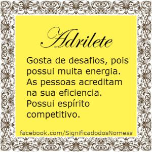Adrilete