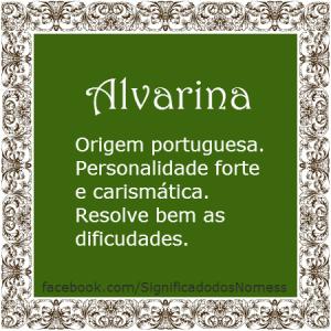 Alvarina