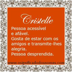 Cristelle