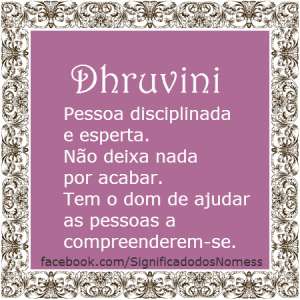 Dhruvini