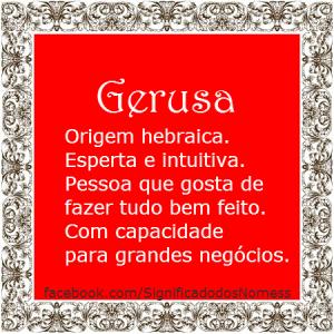 Gerusa
