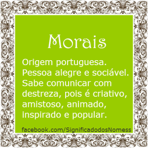 Morais