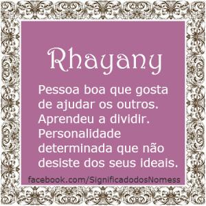 Rhayany