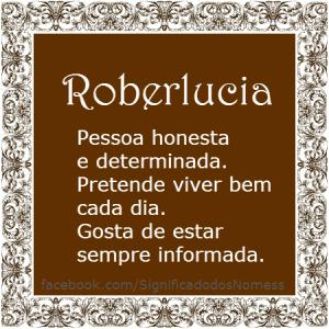 Roberlucia