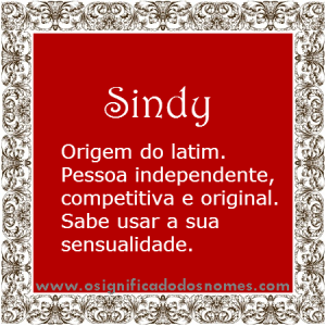Sindy