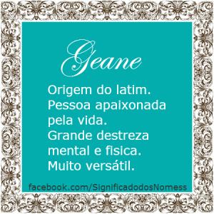 geane
