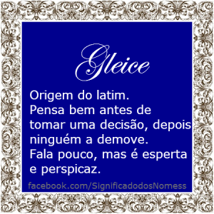 gleice