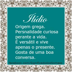 ilidio