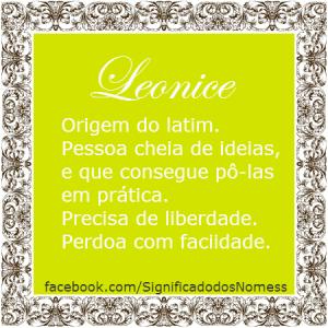 leonice