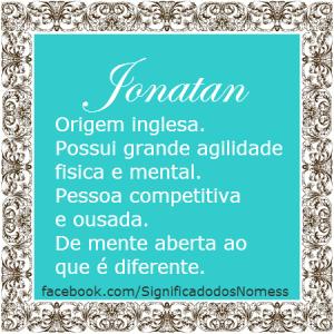 Significado do nome Jonatan